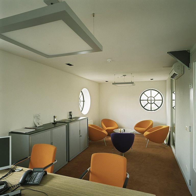 Inrichten van een kantoorruimte